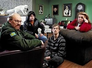 The main cast of Dagvaktin